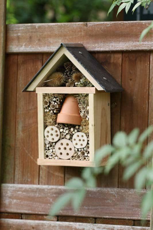 Hôtel à insectes - Nichoir à oiseaux