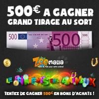 500 euros à gagner en bons d'achat !