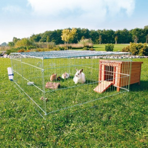 Comment installer un enclos ou un clapier pour lapin blog for Cabane pour lapin exterieur