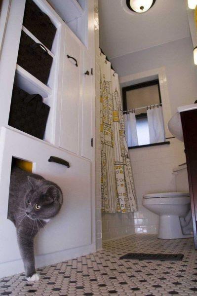 Placard de salle de bains