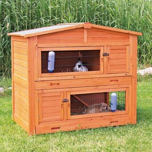 clapiers pour l'élevage de lapins