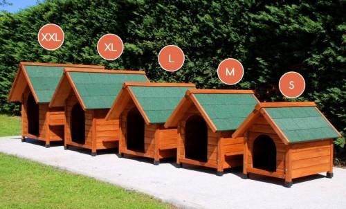 quelle taille de niche pour mon chien blog. Black Bedroom Furniture Sets. Home Design Ideas
