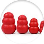 Jouets pour chien solides de la marque Kong