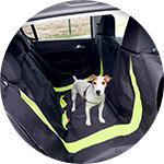 Accessoire de transport voiture pour chien