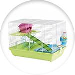 Cage pour hamster Martha triple