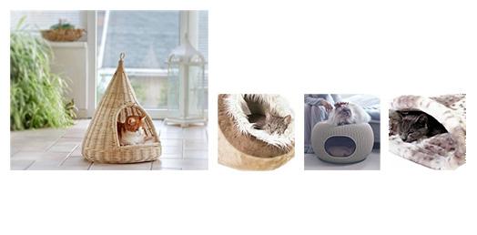37362ab4115c6c Pour l extérieur, la niche pour chat peut prendre des allures de tente en  plastique fin et sardine à planter dans le sable. Une jolie petite cabane  pour ...