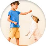 clicker chien enfant