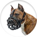Muselière pour chien de défense