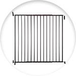 Barrière pour chien métallique