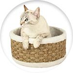 Panier pour chat Zolia rond