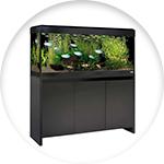 Grand meuble aquarium