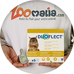 Pipette anti-parasitaire pour chat Duoflect