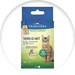 Vermifuge pour chat Francodex