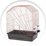 Cage spécialement adaptée aux perruches