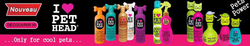 Nouvelle gamme Pet Head