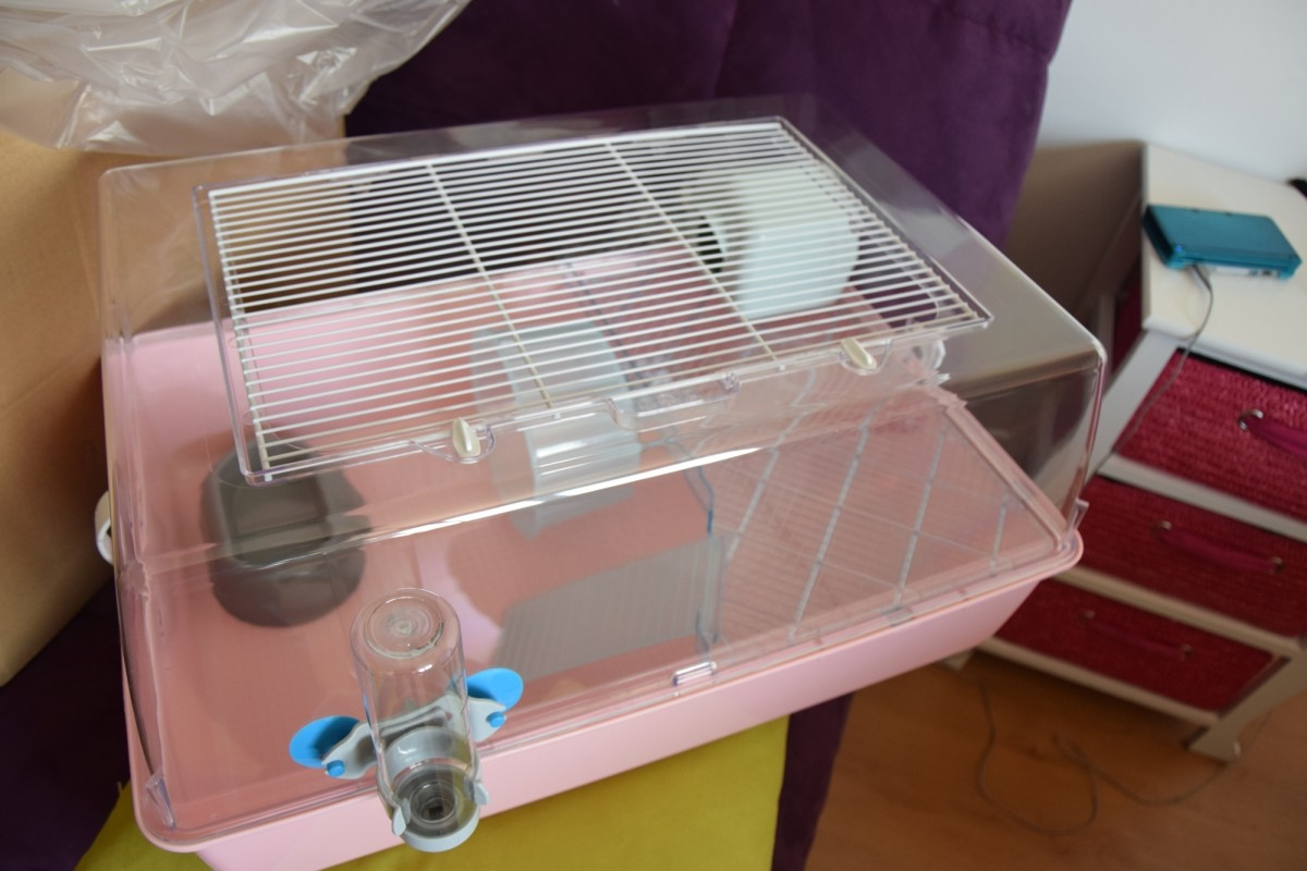 cage mini duna hamster pour petit rongeur cage hamster. Black Bedroom Furniture Sets. Home Design Ideas