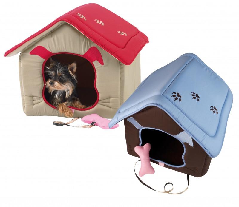 Niche coussin la maison du chien panier et corbeille - Panier pour chien fait maison ...
