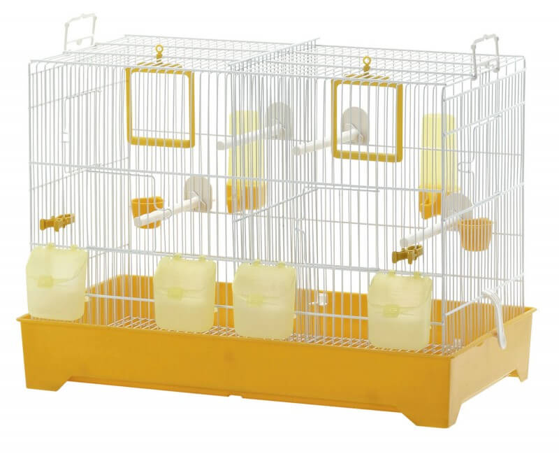 cage double pour canaris et perruches cova 57 cage. Black Bedroom Furniture Sets. Home Design Ideas