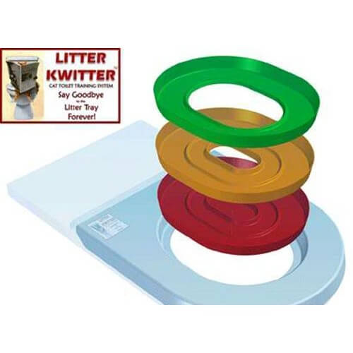 litiere chat jeter toilettes