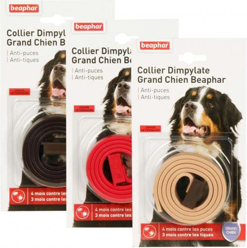 avis sur collier antiparasitaire anti puces et tiques grands chiens au dimpylate. Black Bedroom Furniture Sets. Home Design Ideas