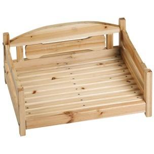 Canap en bois pour chien panier et corbeille - Panier pour chien en bois ...