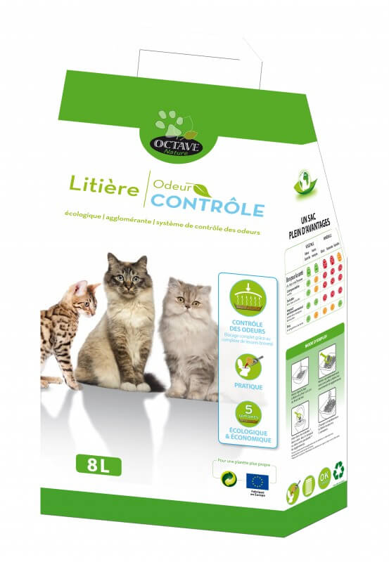 litiere chat sterilise