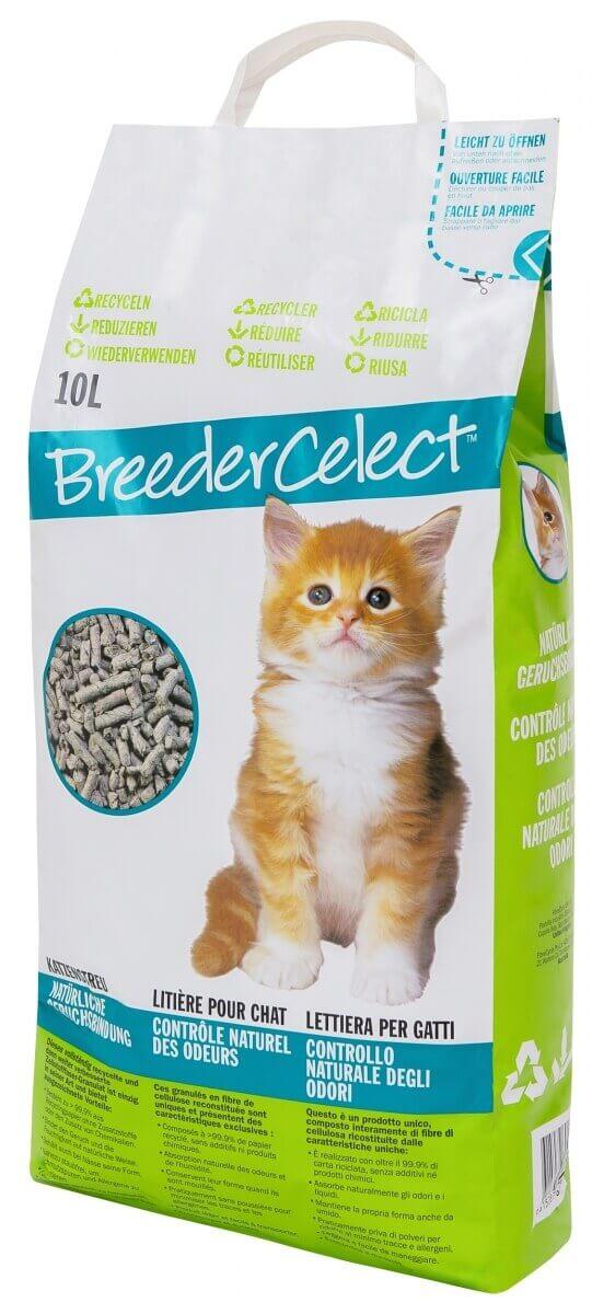litiere chat papier
