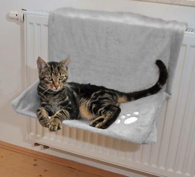 lit hamac radiateur pour chat deluxe hamac et lit suspendu. Black Bedroom Furniture Sets. Home Design Ideas
