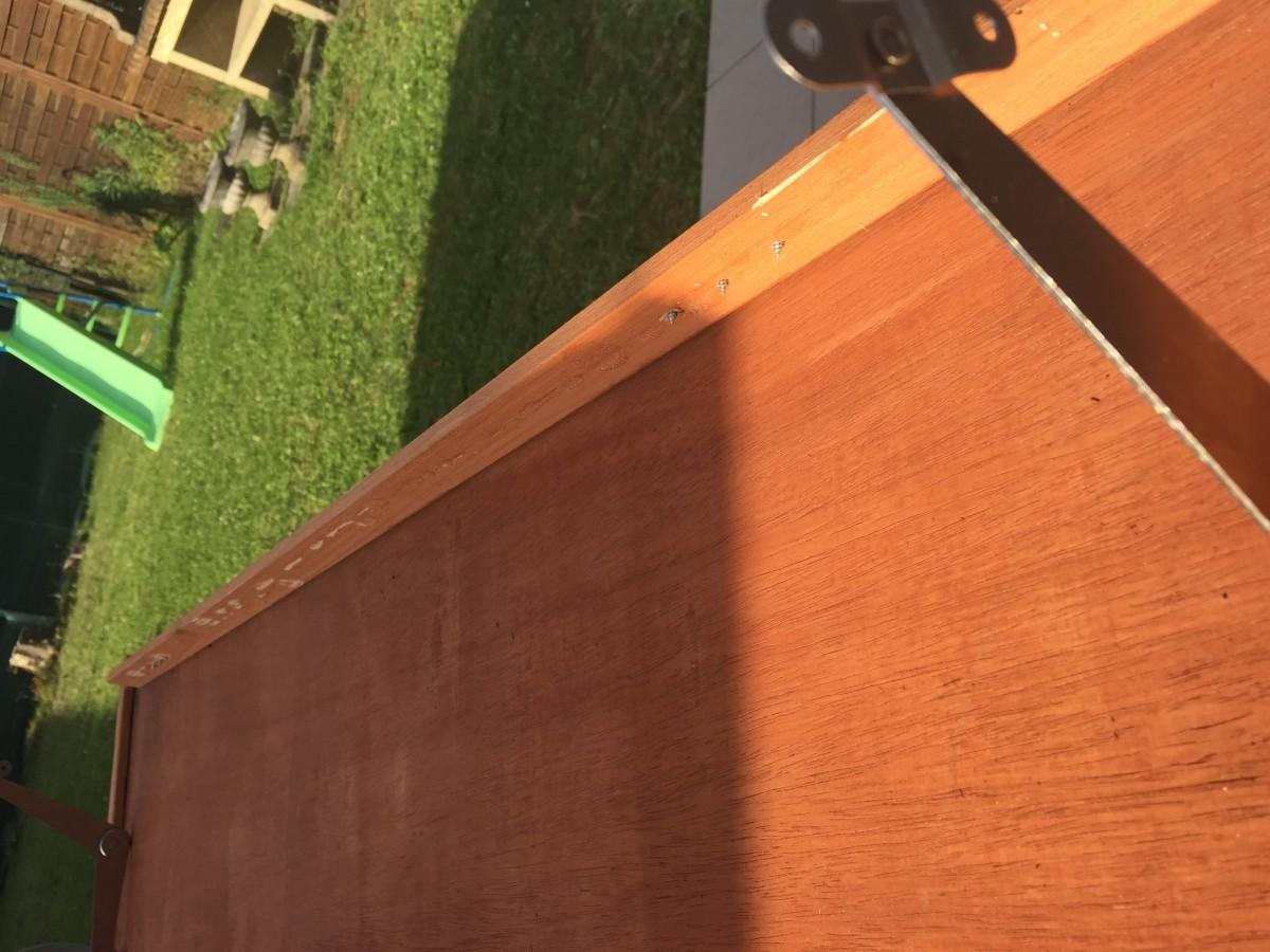 avis sur niche chien en bois api toit plat. Black Bedroom Furniture Sets. Home Design Ideas