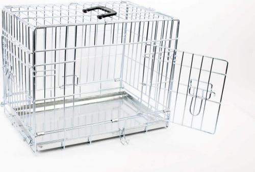 avis sur cage de transport pour chien zolia xena avec fond en m tal. Black Bedroom Furniture Sets. Home Design Ideas