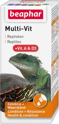 Multi-vit, vitamines pour reptiles