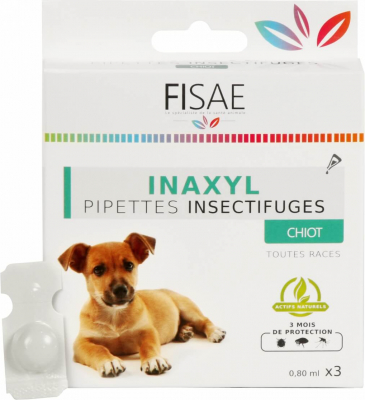 Pipette Insect repellent puppy FISAE INAXYL