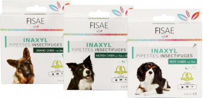 Pipette Insect repellent dog FISAE INAXYL