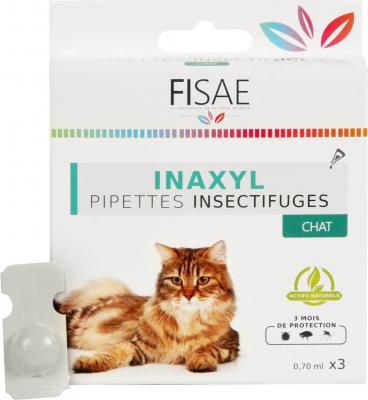 Pipeta insecticida para gatos  FISAE INAXYL
