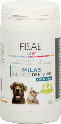 FISAE MILAS Dental Powder for dogs and cats