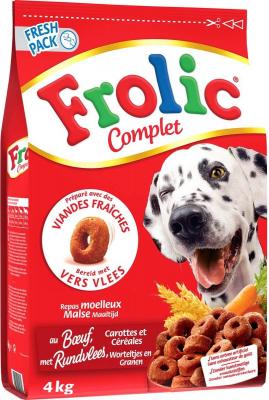 FROLIC Complet Adult au Boeuf pour chien adulte