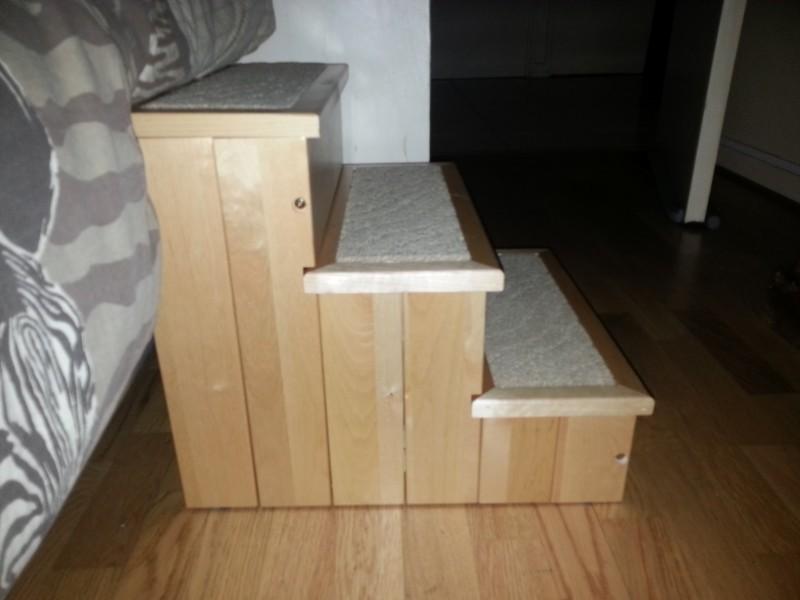 escalier pour chien petstair barri re et escalier. Black Bedroom Furniture Sets. Home Design Ideas