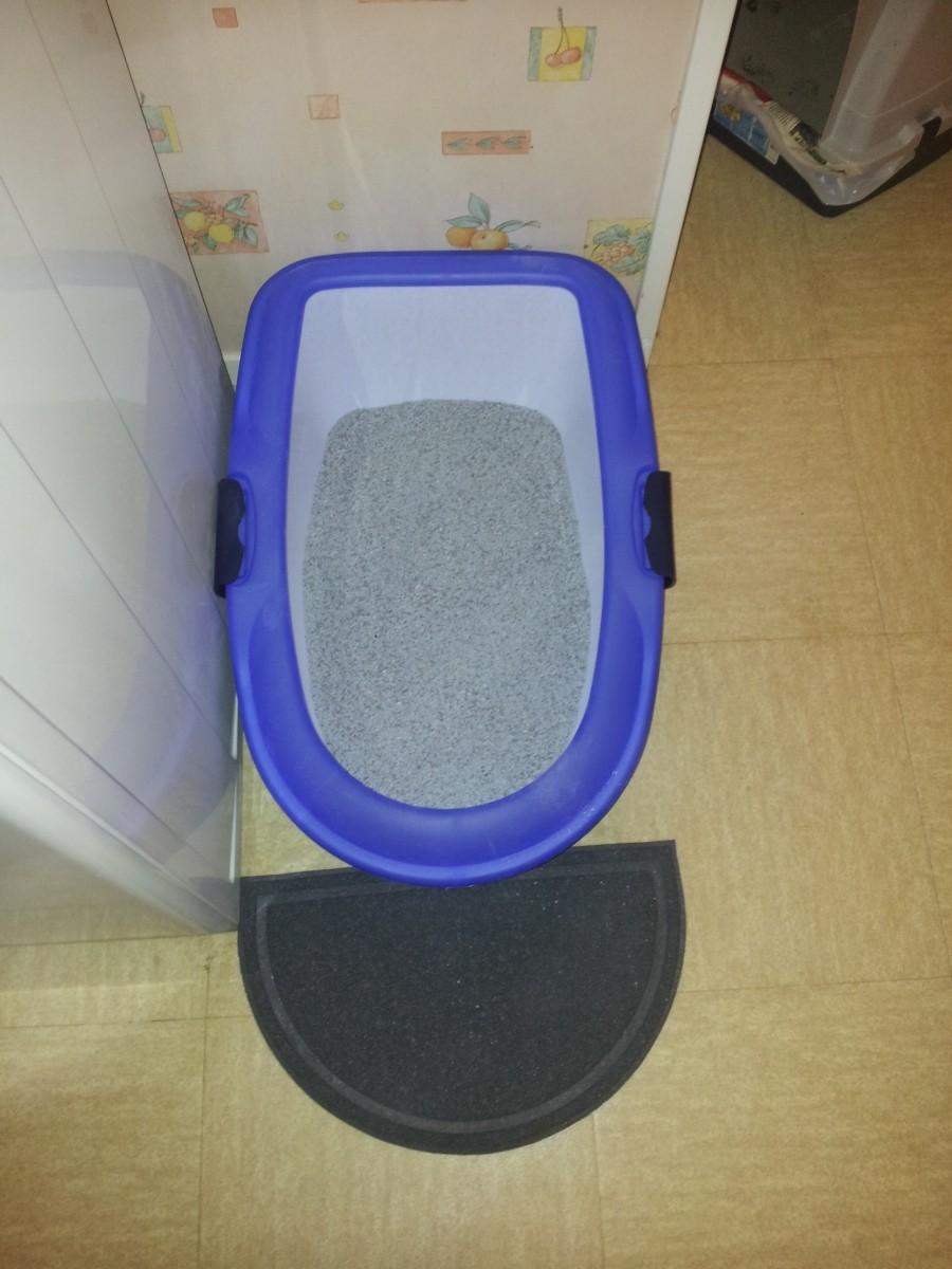 bac liti re pour chat berto bac et maison de toilette. Black Bedroom Furniture Sets. Home Design Ideas