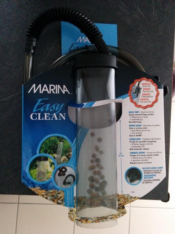 Avis sur cloche de siphonnage pour aquarium easy clean nettoyage du gravier - Gravier pour aquarium ...