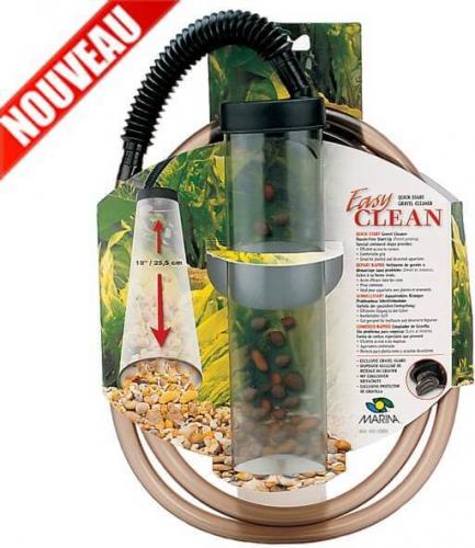 Avis sur cloche de siphonnage pour aquarium easy clean for Gravier aquarium